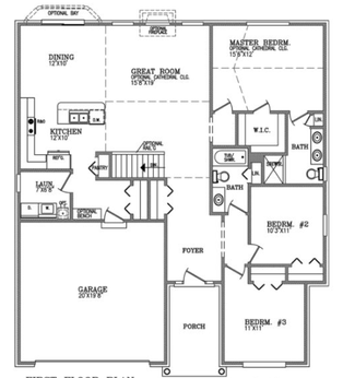 the avery floorplan | our promise to you | triumph building